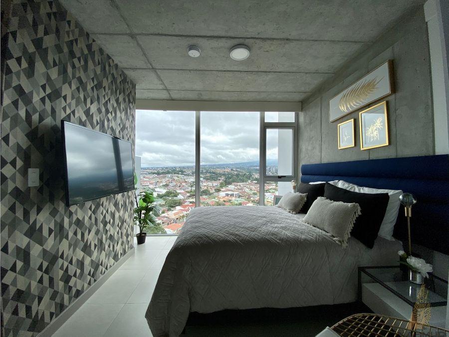 se alquila apartamento tipo studio en freses de curridabat