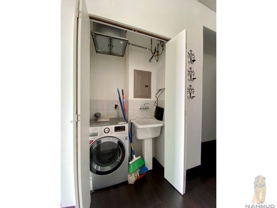 se alquila apartamento amoblado en rohrmoser