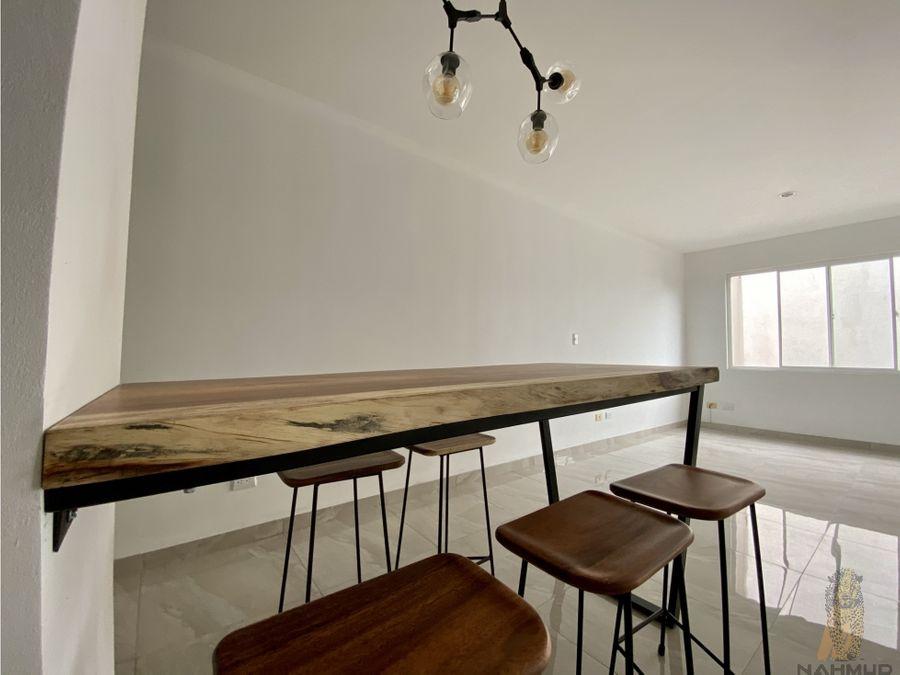se vende apartamento en condominio en pozos santa ana