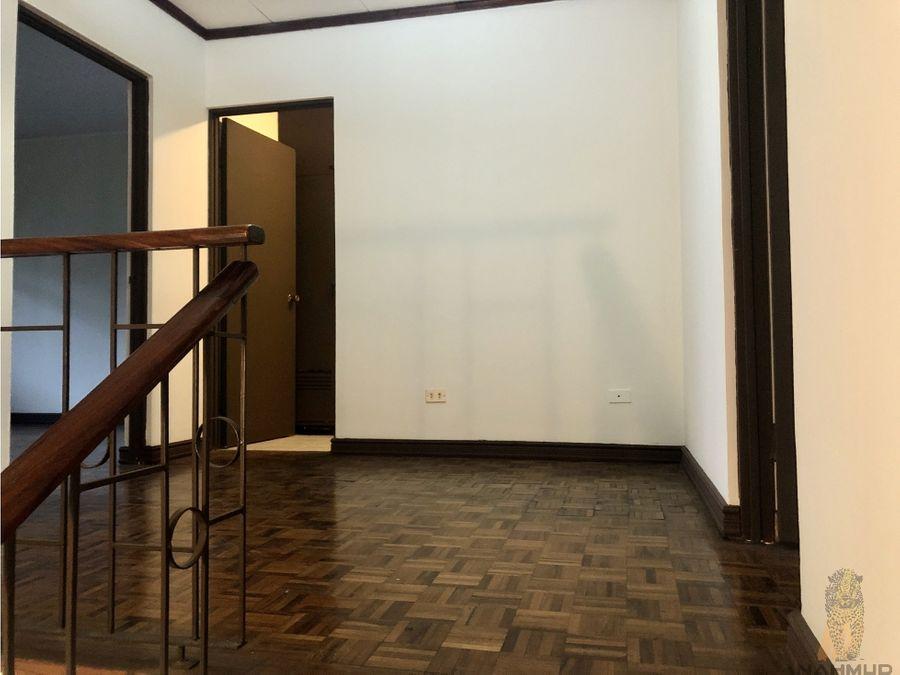 se alquila apartamento en nunciatura rohrmoser