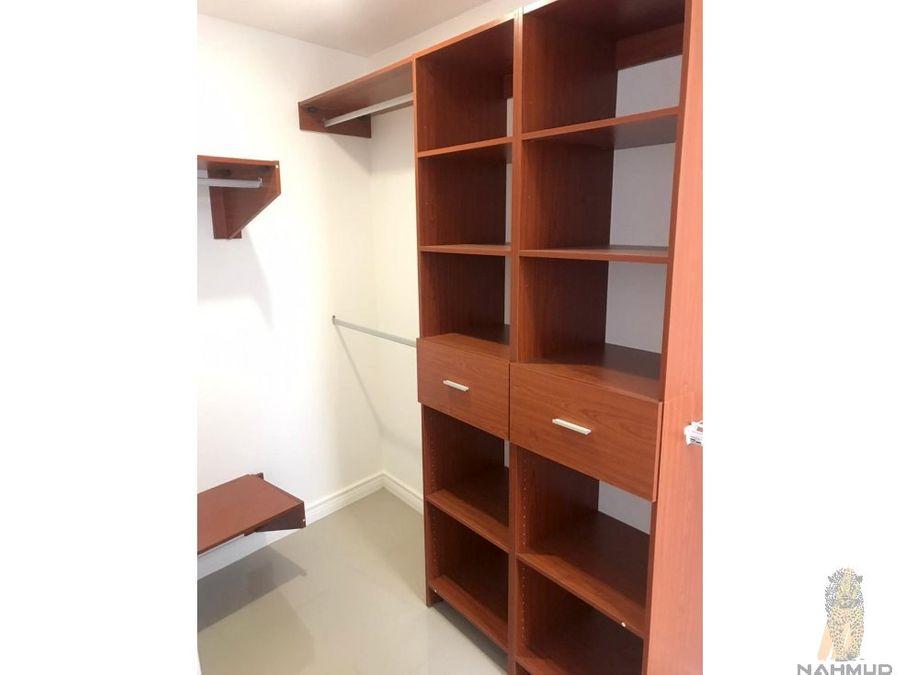 se alquila apartamento en condominio en rohmoser
