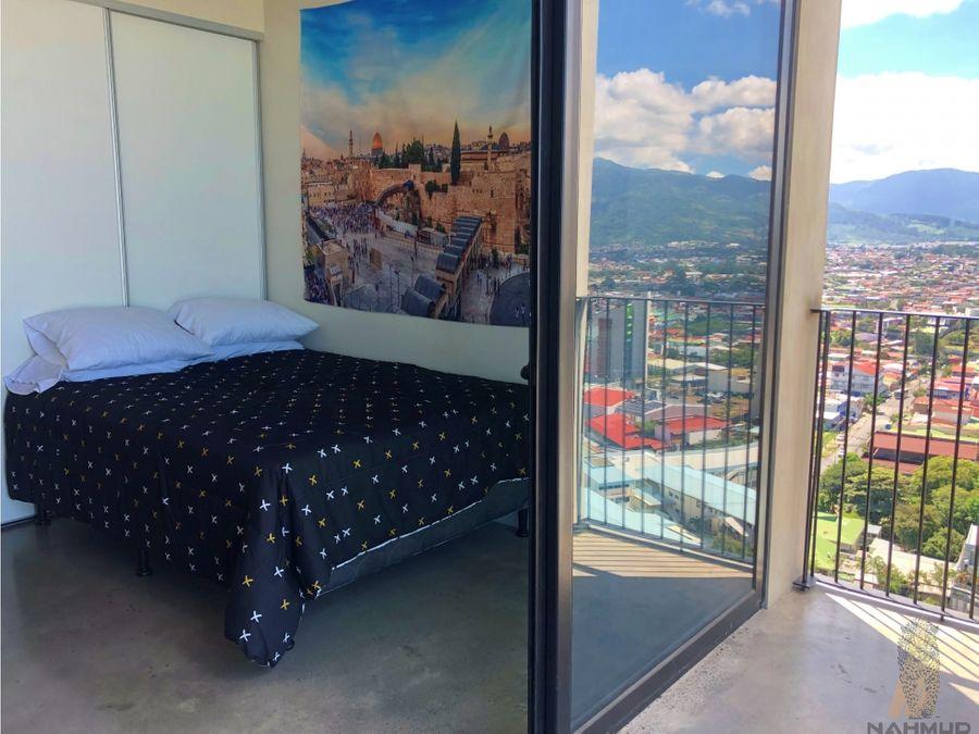 venta de apartamento en torre en barrio escalante