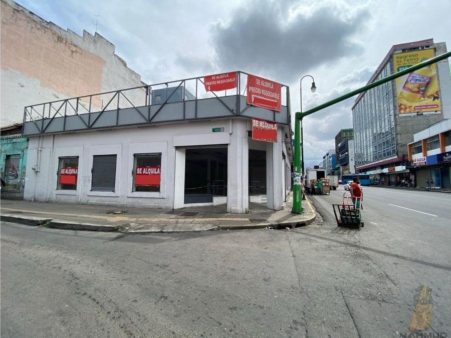 se alquila local comercial sobre avenida segunda san jose