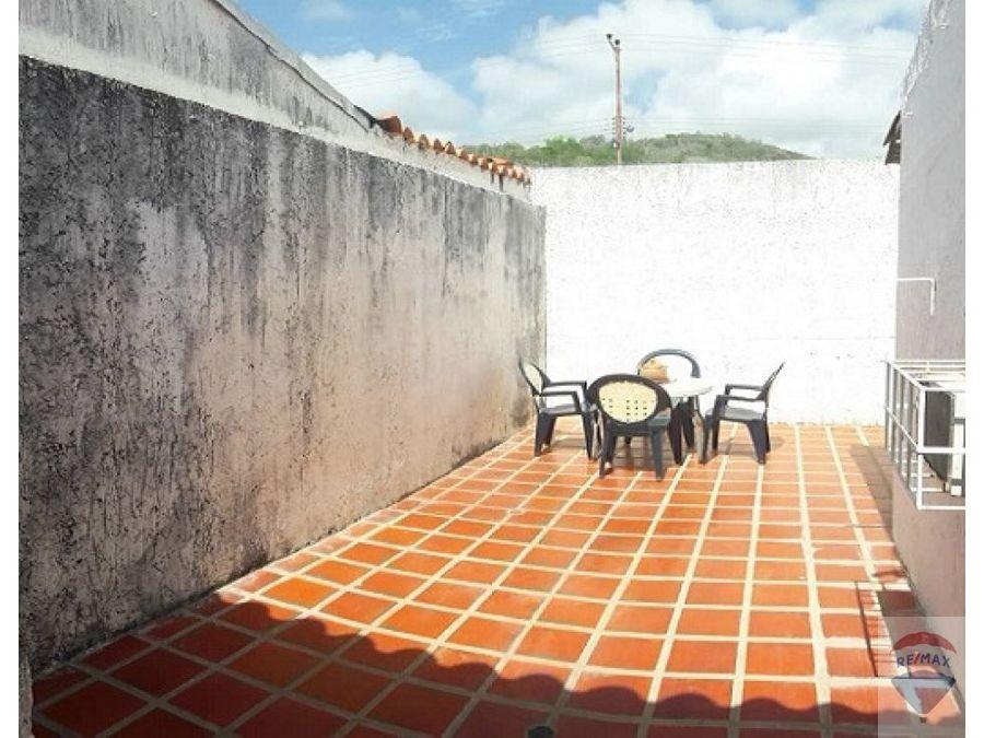 casa en venta en el valle con terraza