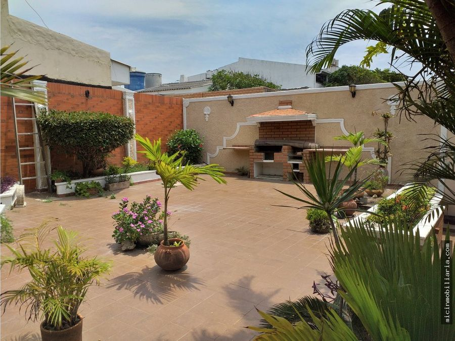 vendo casa en ciudad jardin barranquilla