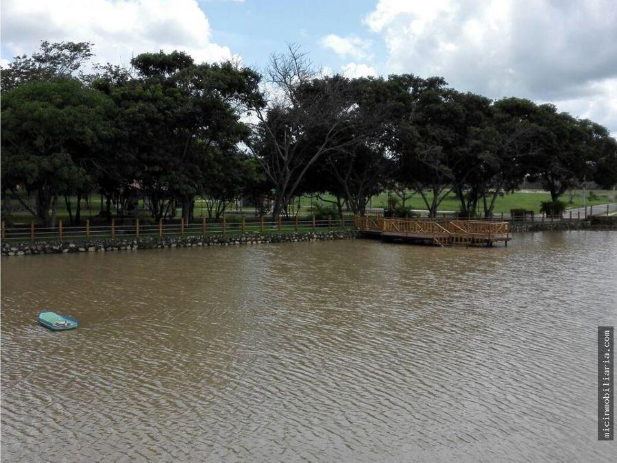 vendo lote en poblado lagunamar baranoa