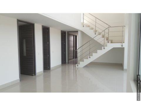 vendo apartamento duplex en villa santos