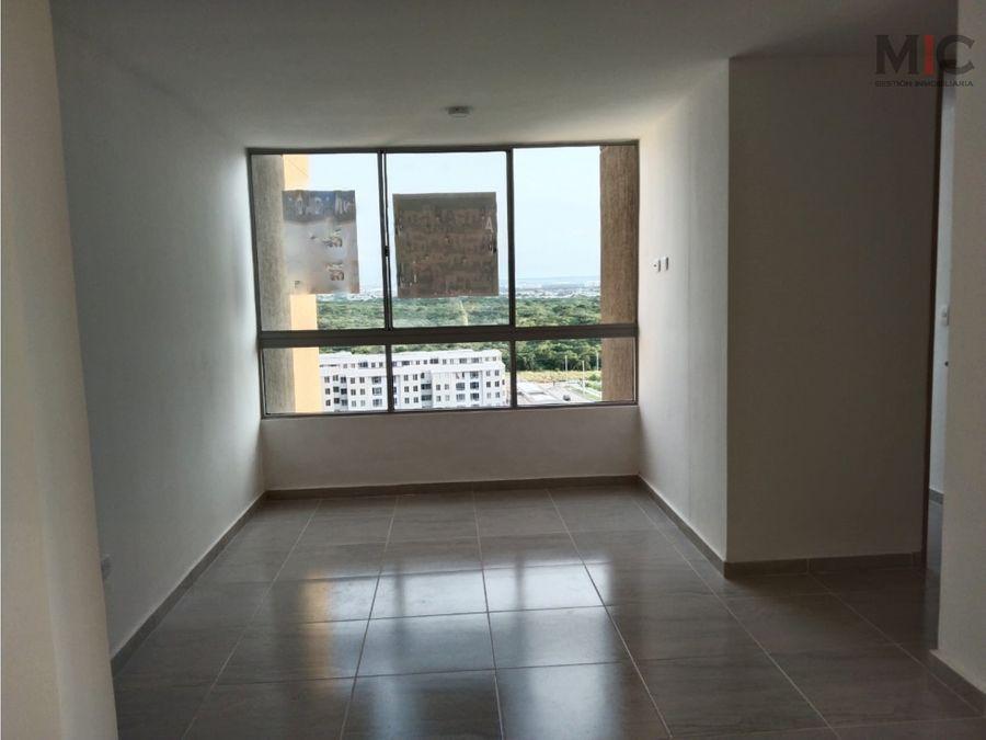 arriendo apartamento en alameda del rio barranquilla