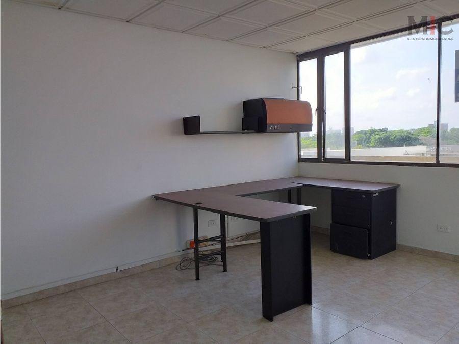 arriendo oficina de 56 m2 en villa country barranquilla