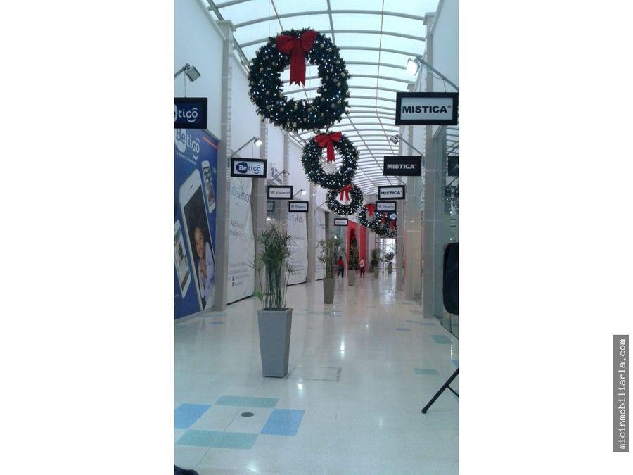 arriendo local en centro comercial