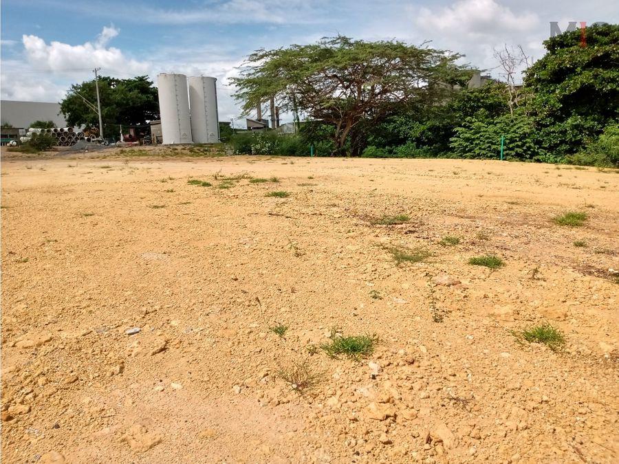 lote comercial e industrial en barranquilla colombia