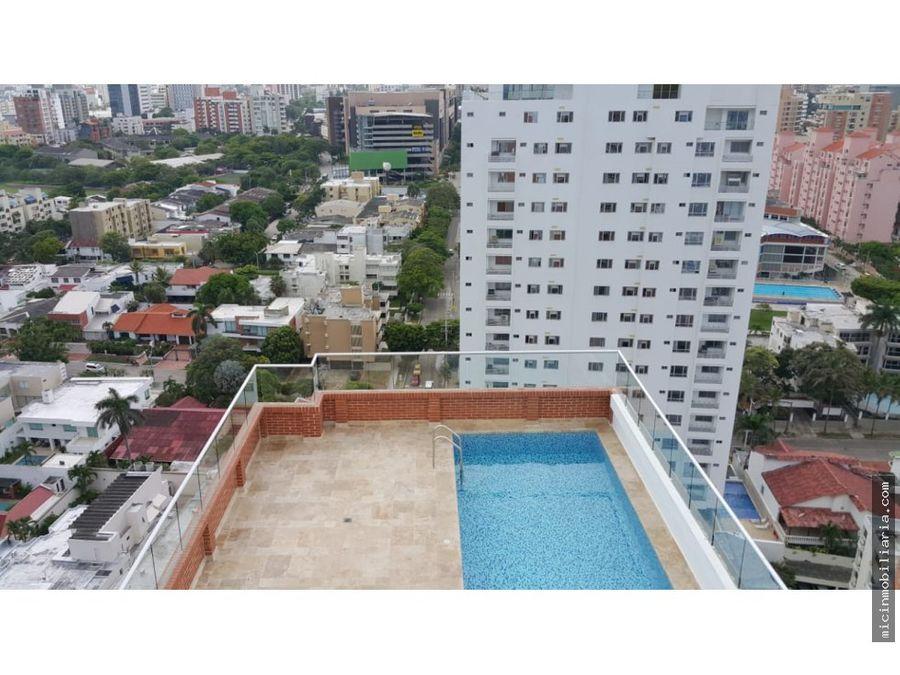vendo amplio apartamento en altos de riomar barranquilla