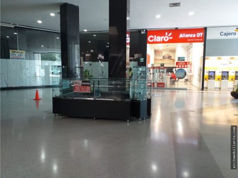 arriendo isla local centro comercial miramar barranquilla