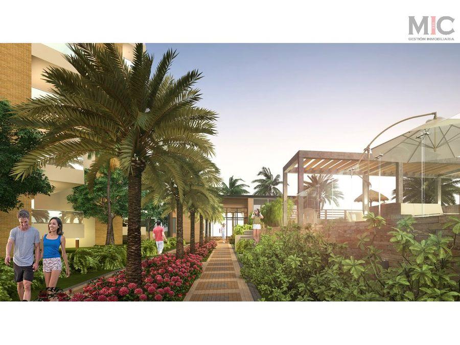 venta de apartaestudio en gardens view cerca al mar