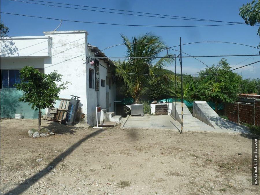 vendo casa lote en puerto colombia