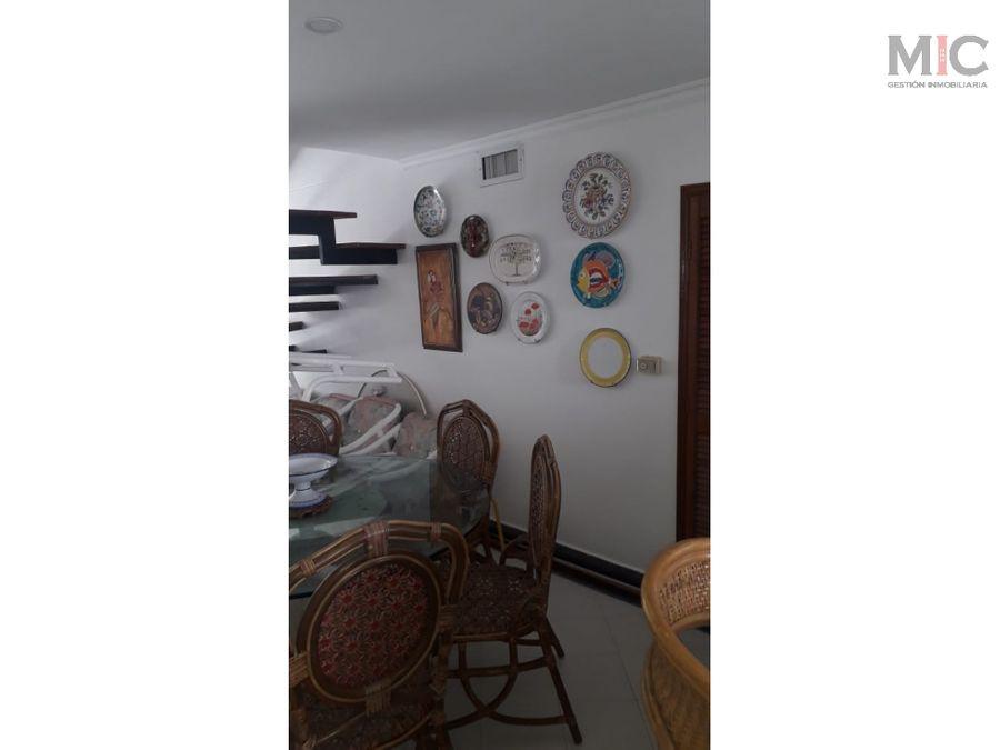 venta de apartamento duplex en santa marta
