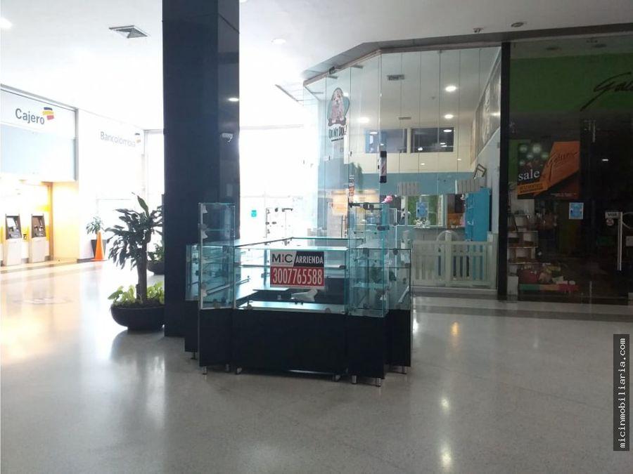 arriendo isla local centro comercial miramar