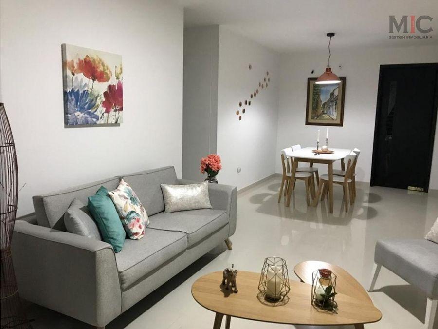 arriendo apartamento amoblado en villa santos barranquilla