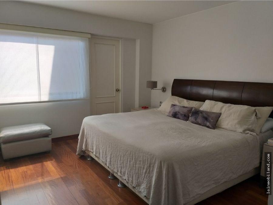penthouse en venta en san borja