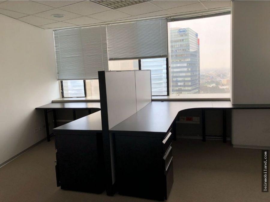 se alquila oficina en san isidro en pleno centro financiero