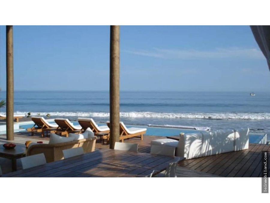 alquilo casa de playa en las pocitas mancora