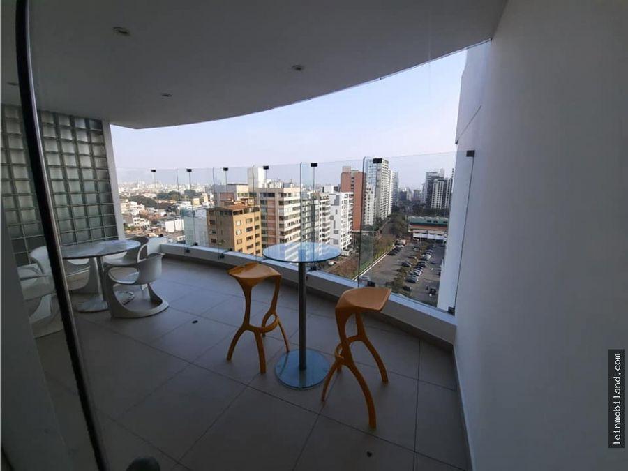 departamento con terraza en alquiler en san isidro