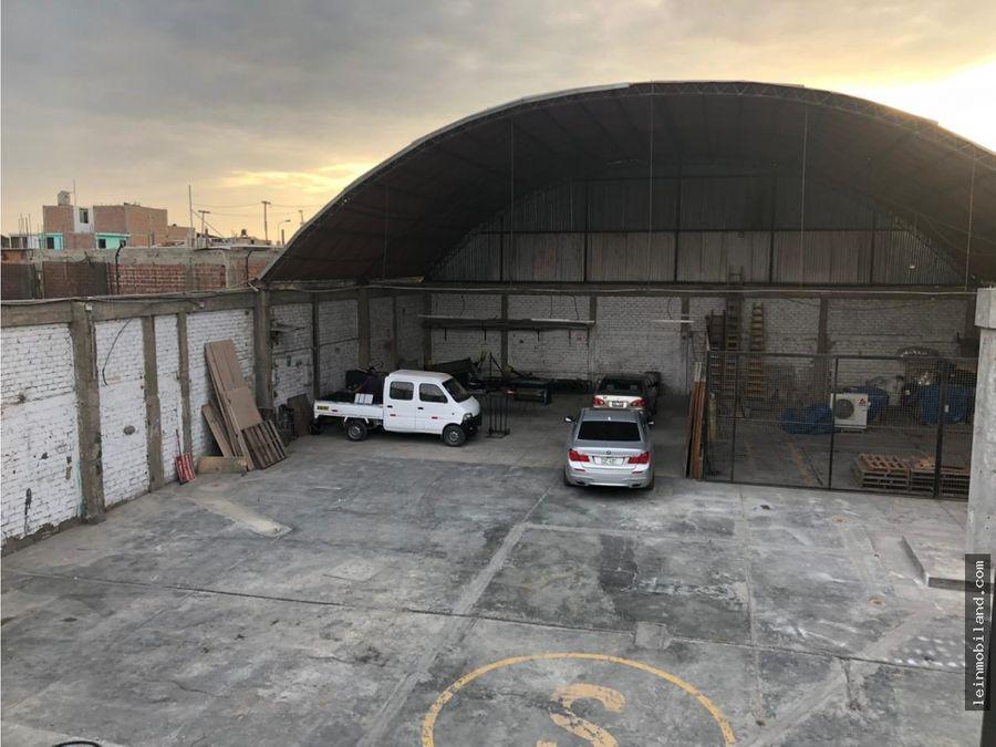 se alquila local industrial