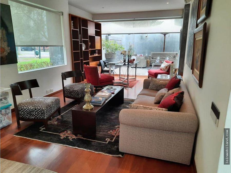 se alquila casa moderna en san isidro