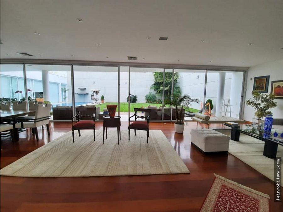 lujosa casa en venta en san isidro