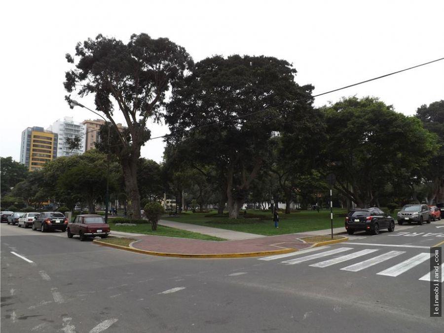 departamento en alquiler en san isidro frente a parque