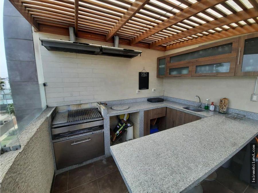 vendo espectacular penthouse en surco