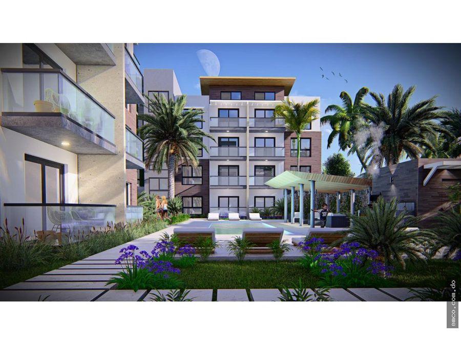 apartamentos 1 y 2 habitaciones en punta cana