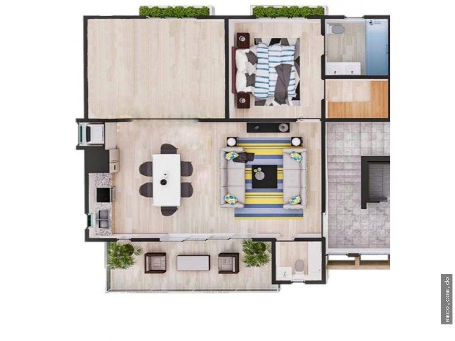 apartamentos 1 y 2 habitaciones en bavaro punta cana