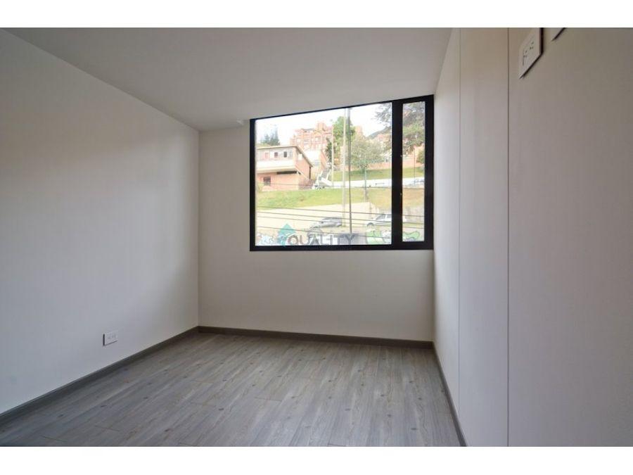 apartamento en arriendo chapinero alto