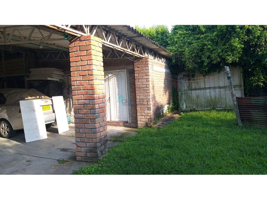 casa lote en venta sobre avenida nacional