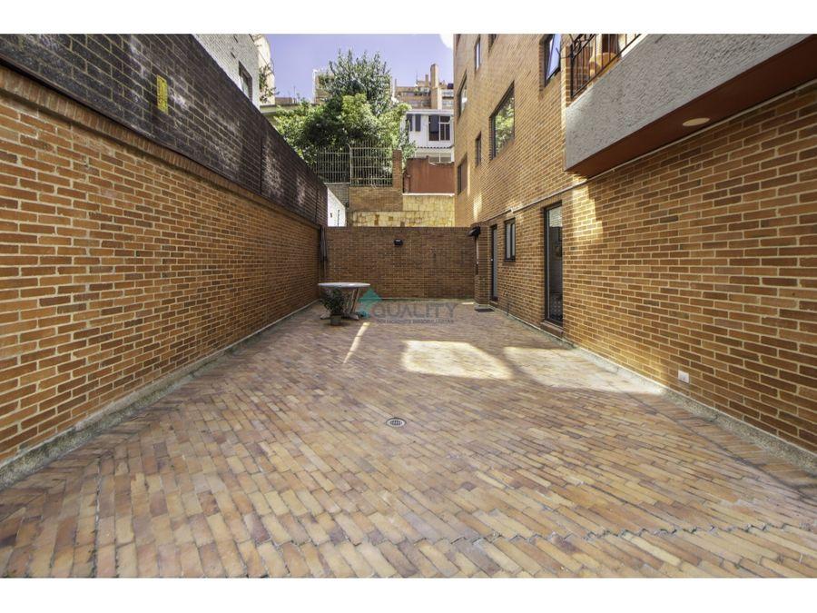 apartamento en arriendo rosales terraza de 120m2