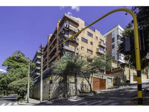 apartamento amoblado en arriendo rosales terraza de 120m2