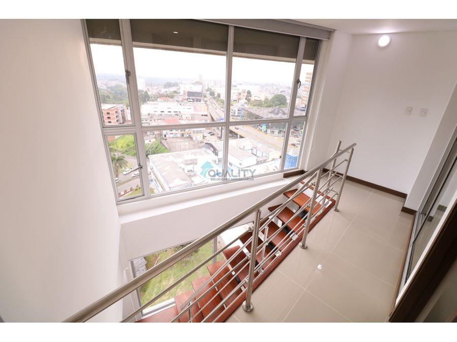apartamento duplex con hermosa vista a la cordillera