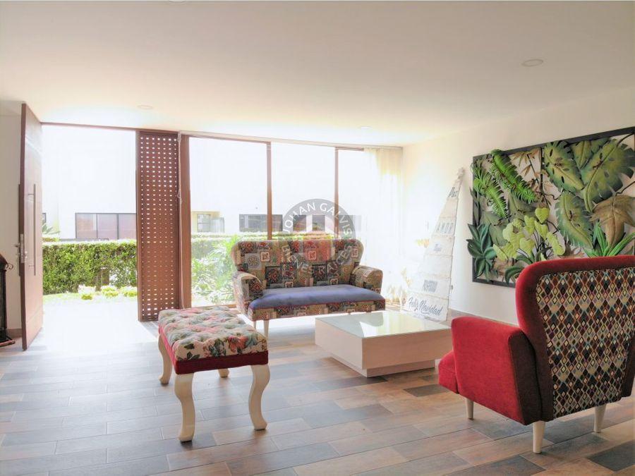 hermosa casa campestre montenegro en venta