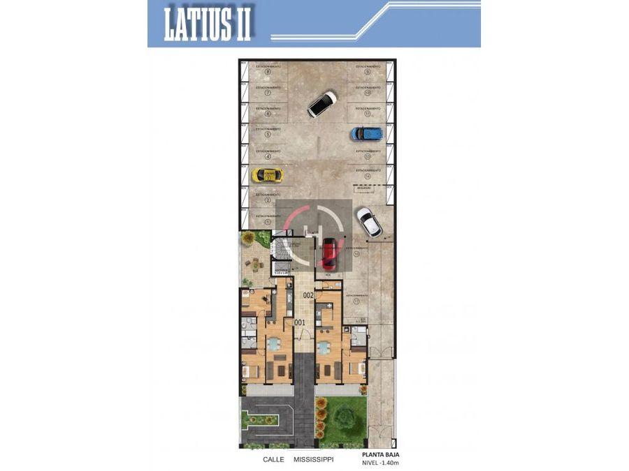 amplio apartamento con terraza al frente