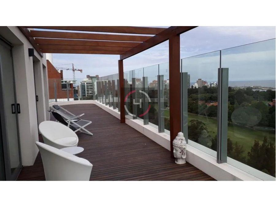 vista al golf amueblado amplias terrazas a estrenar