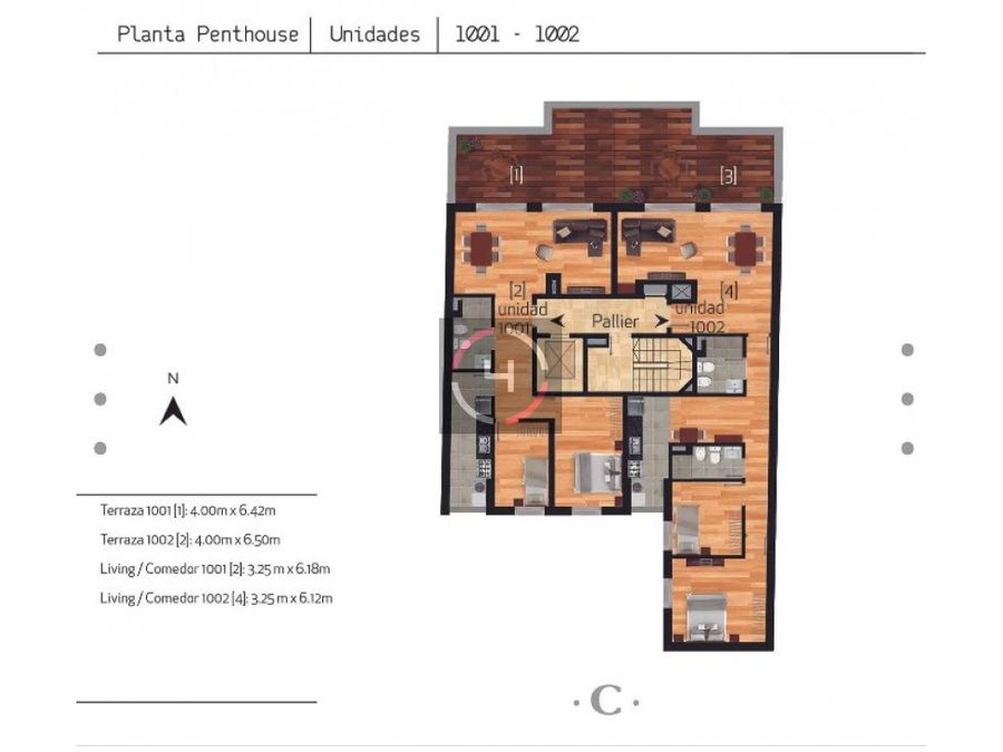 penthouse gran terraza garage y box incluidos