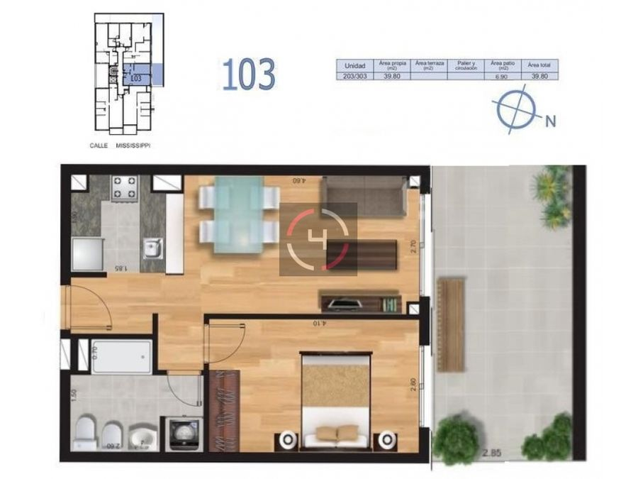 precioso apartamento en pleno malvin terraza ocupa ya