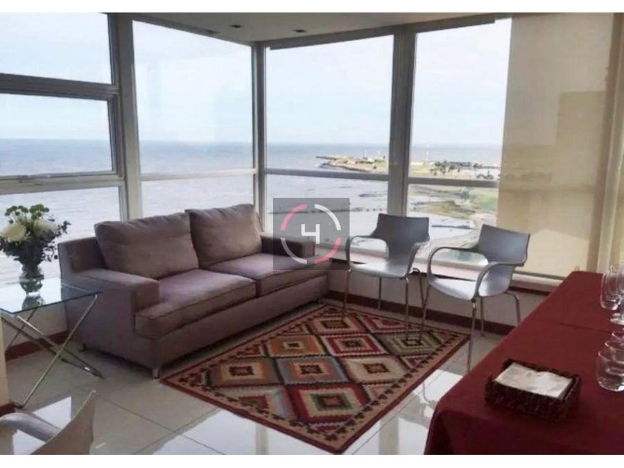 divino apartamento con vista al mar