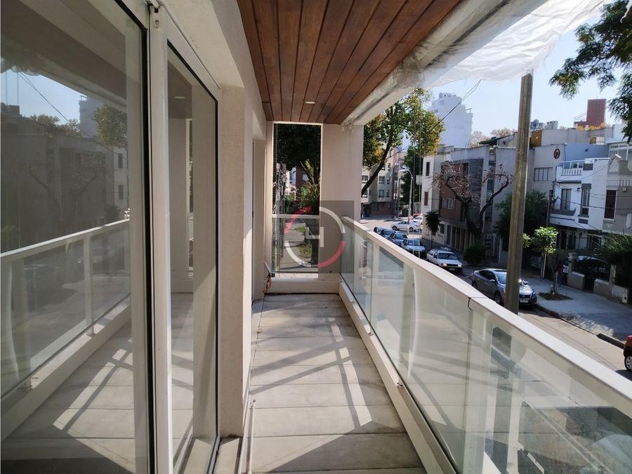ultima unidad balcon y patio con parrillero