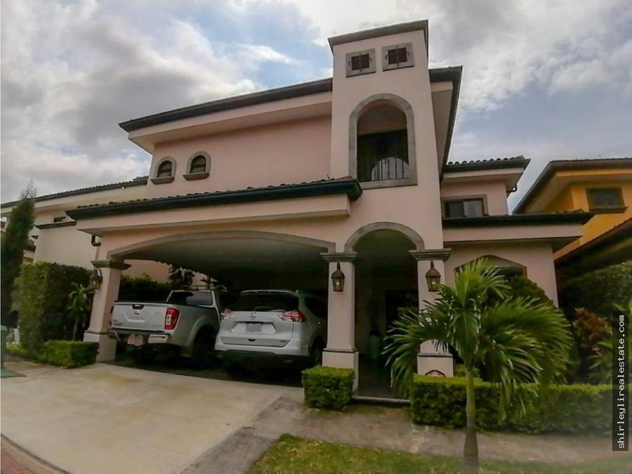 vendo alquilo casa en condominio exclusivo heredia belen