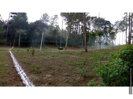 vendo terreno plano en chimaltenango