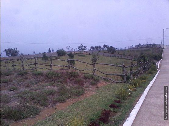 vendo terreno cerca de la ciudad en carrsalvador