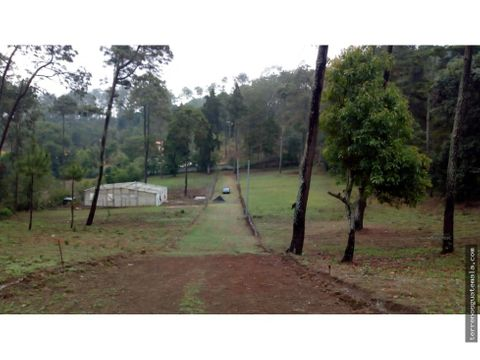 chimaltenango vendo terreno cerca de santa otilia