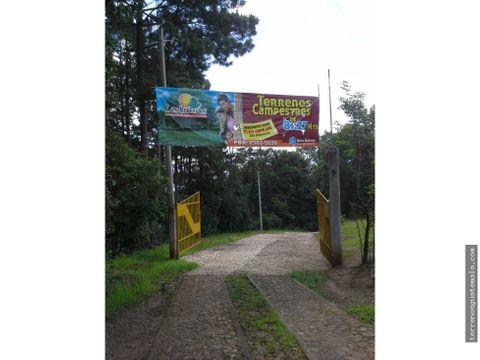 venta de terreno en san juan sacatepequez